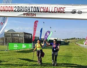 London to Brighton challenge