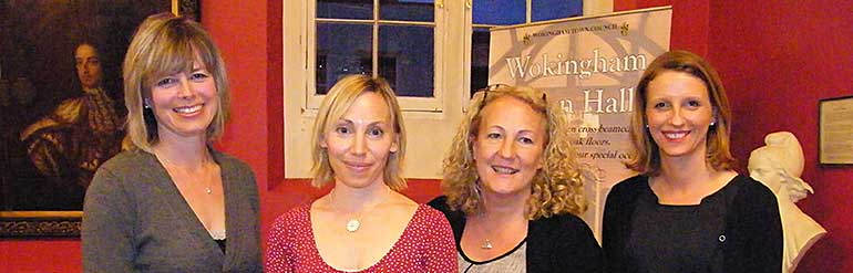 4 women in Wokingham Town Hall