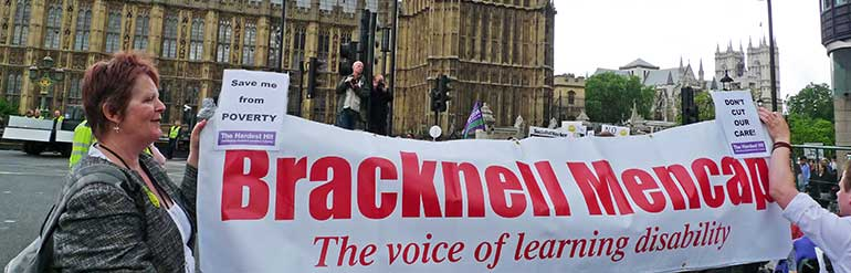 Bracknell campaign parliament banner