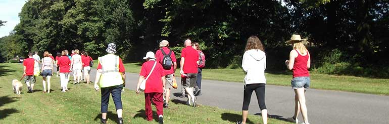 Mencap sponsored walk